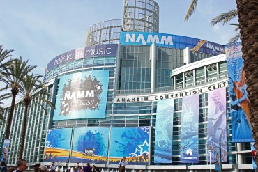 The NAMM Show at the Anaheim Convention Center (1/21/16 - 1/24/16)