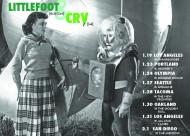 littlefoot west coast tour flyer