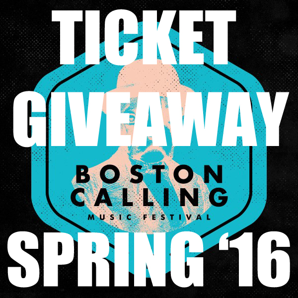 BOSTON CALLING GIVEAWAY