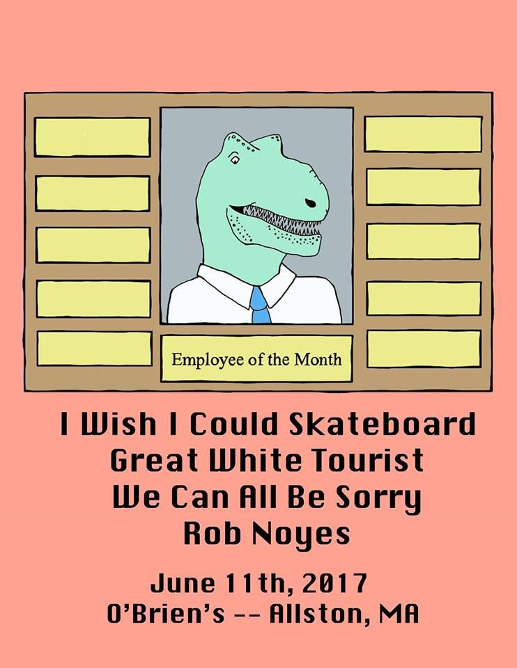 SHOW PREVIEW: I Wish I Could Skateboard @ O'Brien'S 6/11